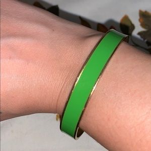 """Kate spade ♠️""""the grass is always greener"""" bangle"""
